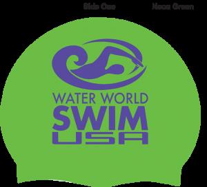 Swim Cap Water World Swim USA
