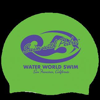 Swim With Pedro Swim Cap