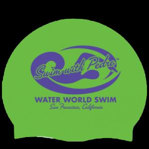 green swim cap image